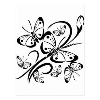 Cute Butterfly's Postcard