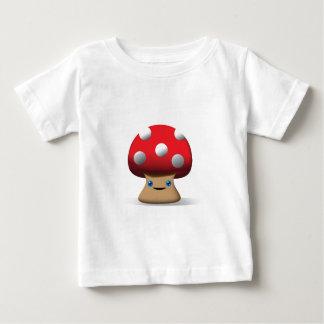 Cute Button Mushroom Baby T-Shirt