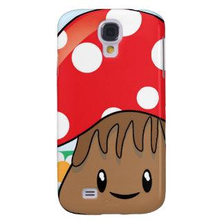 Cute Button Mushroom HTC Vivid / Raider 4G Cover