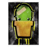 Cute Cactus Greeting Card