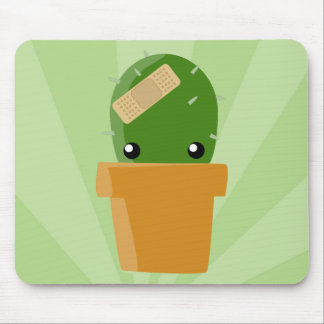 Cute Cactus Mouse Pad