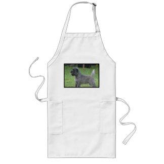 Cute Cairn Terrier Long Apron