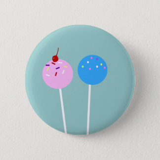 CUTE Cake Pops Button