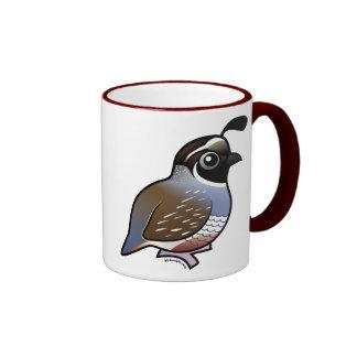 Cute California Quail Mug