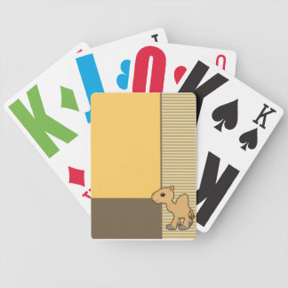 Cute Camel Gold Cards Deck Of Cards