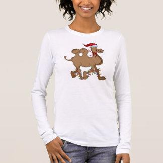 Cute Camel Hump Day Christmas Long Sleeve T-Shirt