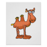 cute camel posters