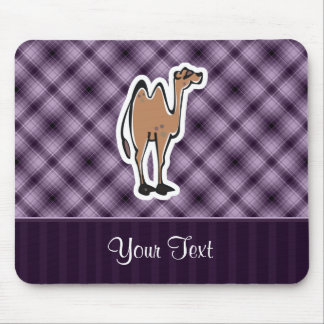 Cute Camel; Purple Mouse Mat