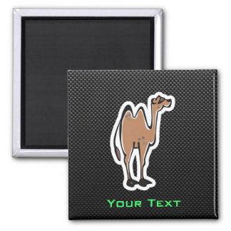 Cute Camel; Sleek Square Magnet