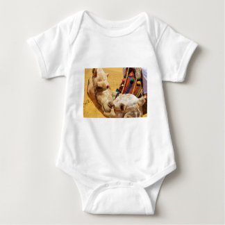 Cute Camels Baby Bodysuit