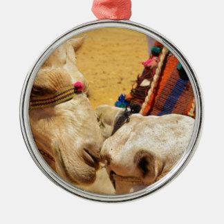Cute Camels Christmas Ornament