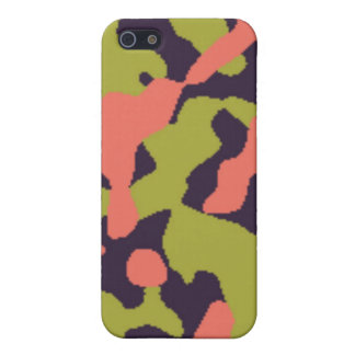 Cute Camo iPhone 5 Covers