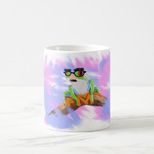 Cute camouflage Tree Frog Animal Painting Mug