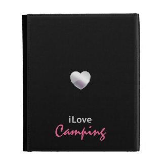 Cute Camping iPad Folio Covers