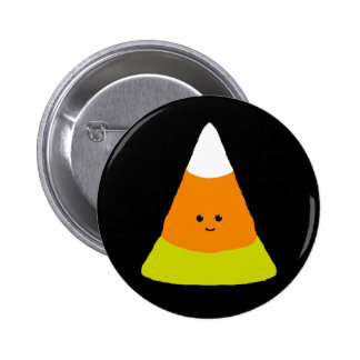 Cute Candy Corn 6 Cm Round Badge