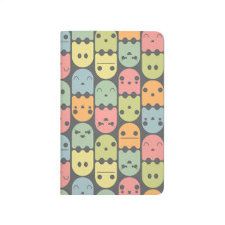 Cute Candy Ghost Pattern Journal