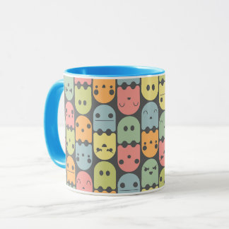 Cute Candy Ghost Pattern Mug