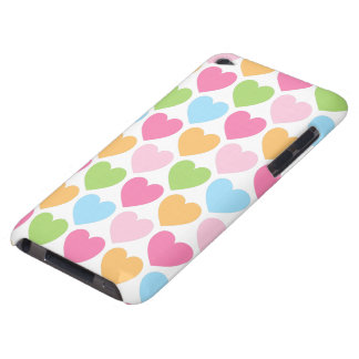 Cute candy hearts girly iPod case for girls