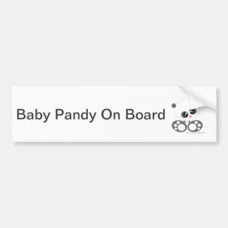 Cute Candy pandy Bumper Sticker