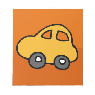 Cute CAR Notepad