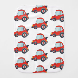 Cute Car Pattern Design Burp Cloth