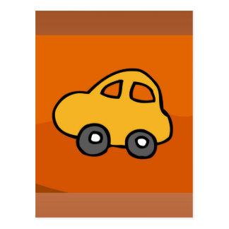 Cute CAR Postcard