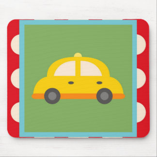 Cute Car Transportation Theme Baby Kids Gifts Mouse Pad