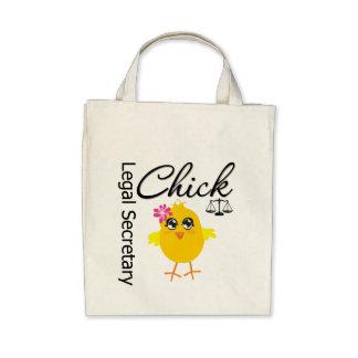 Cute Career Chick - Legal Secretary Tote Bag
