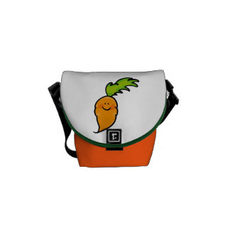cute carrot courier bag