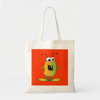 Cute Cartoon Alien Tote Bag