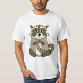 Cute Cartoon Animal - Raccoon T-shirt