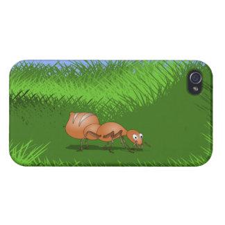 Cute Cartoon Ant iPhone 4/4S Case