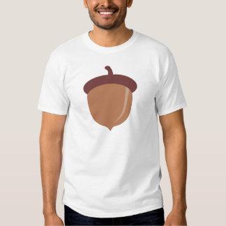 Cute Cartoon Autumn Acorn Tee Shirt