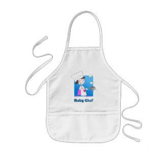Cute Cartoon Baby Chef Kids' Apron