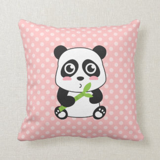Cute Cartoon Baby Panda Cushion