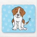 Cute Cartoon Beagle Mousepad