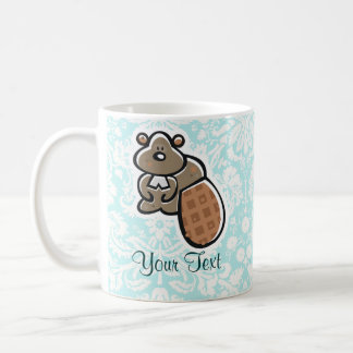 Cute Cartoon Beaver Coffee Mug