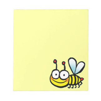 cute cartoon bee notepad