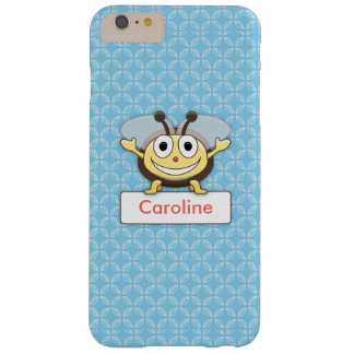 Cute Cartoon Bee Personalized Barely There iPhone 6 Plus Case