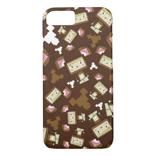 Cute Cartoon Blockimals Bear iPhone 8/7 Case