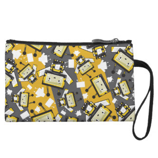 Cute Cartoon Blockimals Bee Clutch Purse