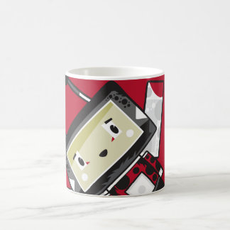Cute Cartoon Blockimals Ladybird Coffee Mug