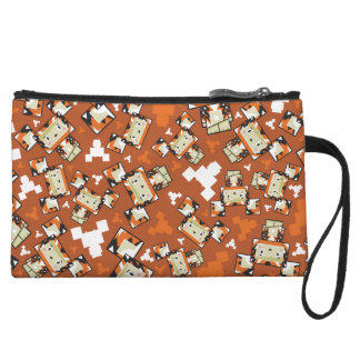 Cute Cartoon Blockimals Tiger Clutch Purse