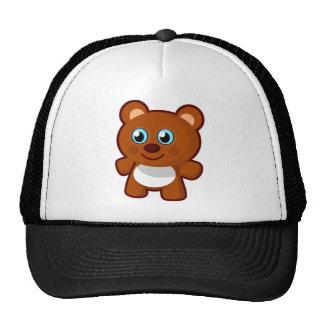 Cute Cartoon Blue Eyed Teddy Bear Hats
