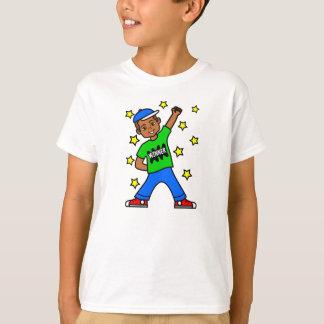 Cute Cartoon Boy Winner Image T-Shirt