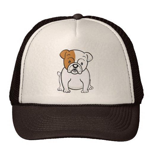Cute Cartoon Bulldog Hat