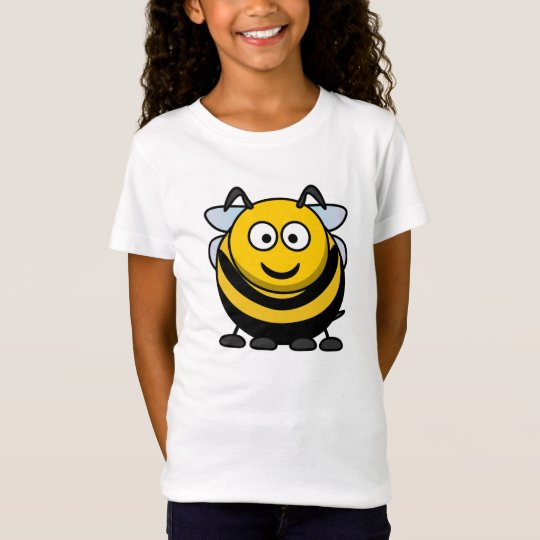 Cute Cartoon Bumble Bee Kids T-shirt