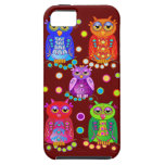 Cute Cartoon case-mate with Decorated Owls iPhone 5 Cases