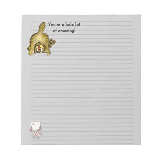 Cute Cartoon Cat Notepad
