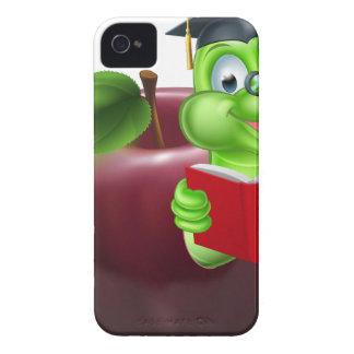 Cute Cartoon Caterpillar Worm iPhone 4 Case-Mate Cases